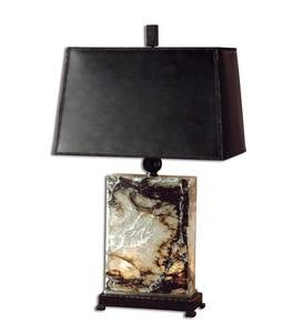 Polished Marble&Metal Table Lamp