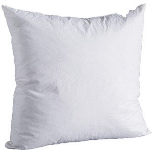 "Natural Down-Filled 21""SQ. Decorative Pillow Insert"