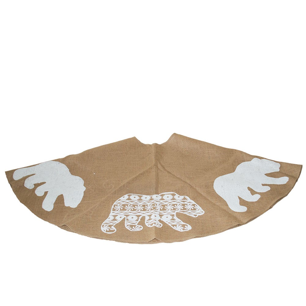 Polar Bear Tree Skirt