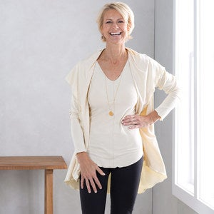 Essential Open-Front Cardigan