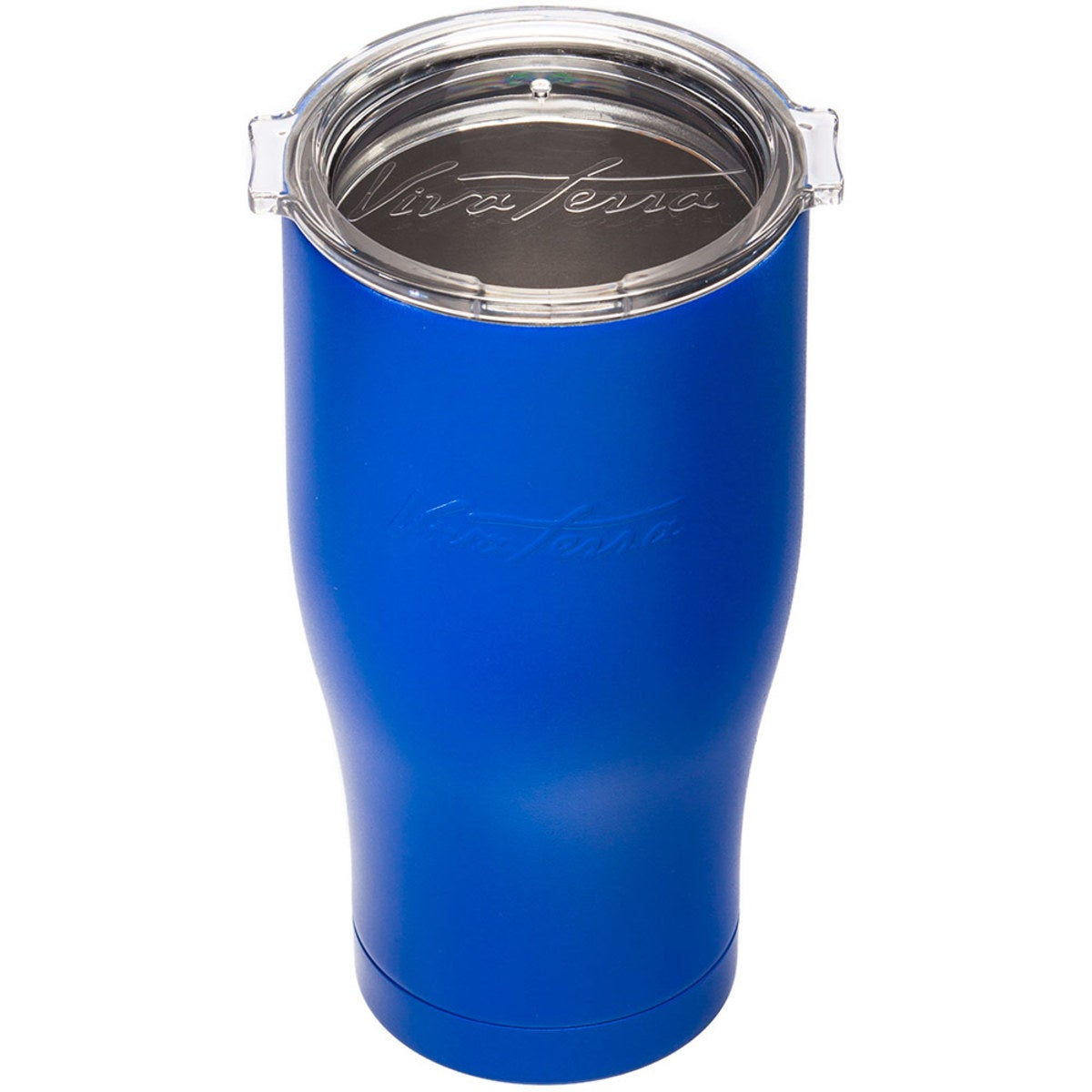 VivaTerra Stainless Steel Travel Cup - Blue