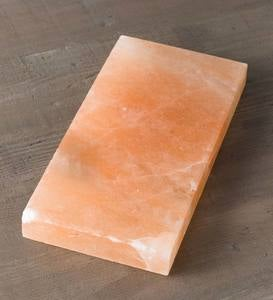 "Himalayan Salt Rectangle Cooking and Serving Block 16""x8"""