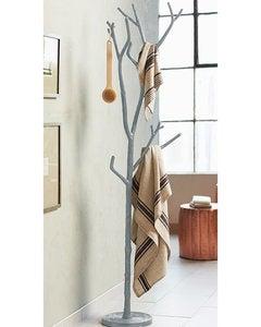 Tree Branch Coat Rack   Bronze