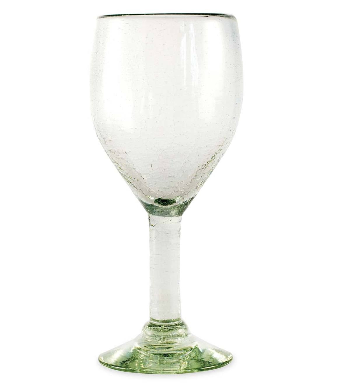 Maya Recycled Wine Glass - Clear