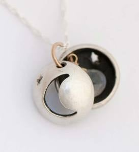 Stars and Moon Locket