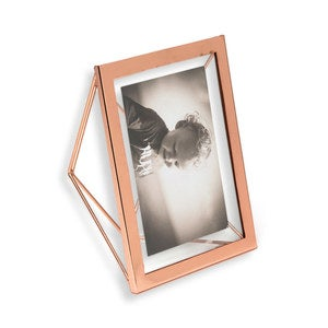 Geo Angles Metallic Frames - Copper