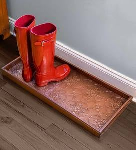 Medallions Boot Tray