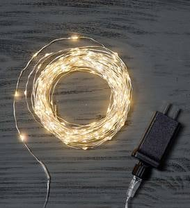 240 White Wrap LED String Lights