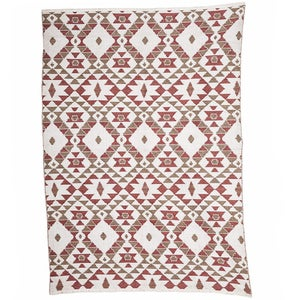 Reversible Indoor/Outdoor Diamond Rug