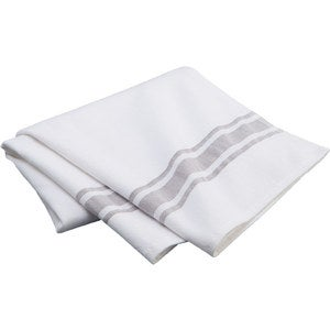 Turkish Cotton Terry Lined Stripe Bath Towel
