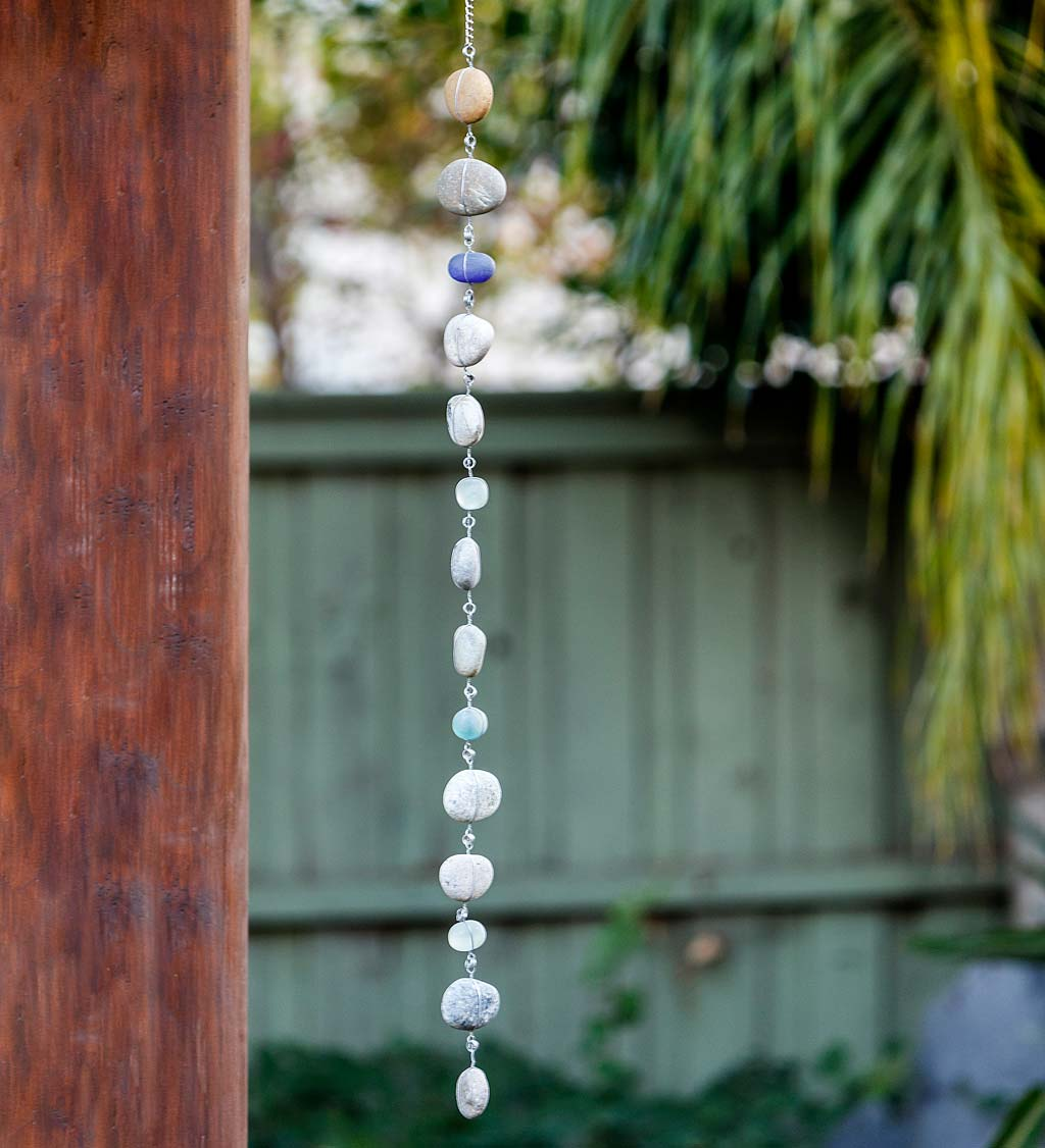 Stone and Glass Garland