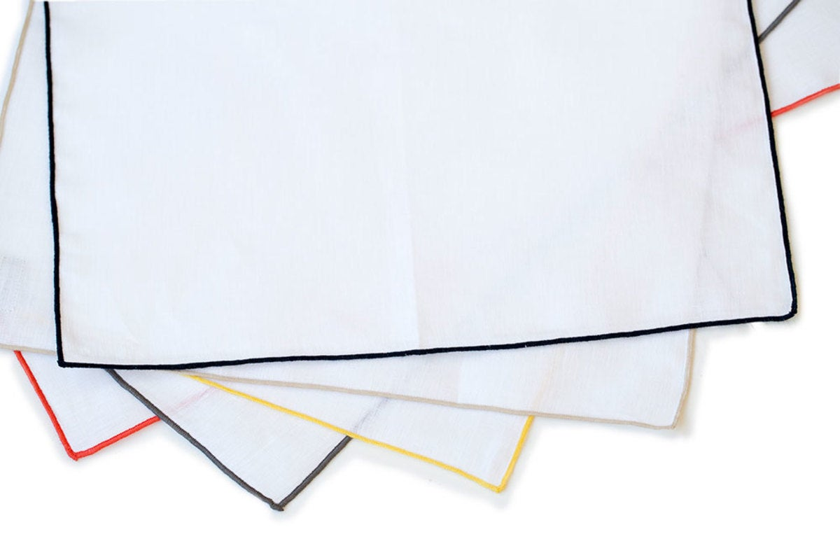 100% Pure Linen Placemats, Set of 4 - Corral