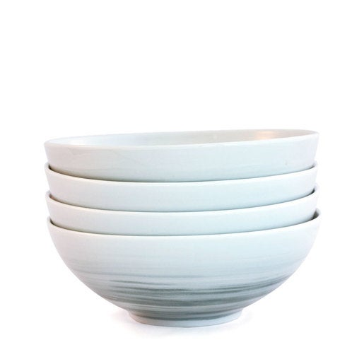 Dakota Porcelain Cereal Bowl, Set of 4