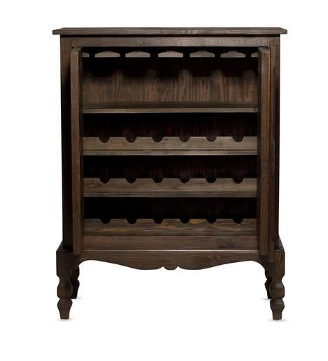 Vintage Fir Tradewinds Wine Storage Cabinet