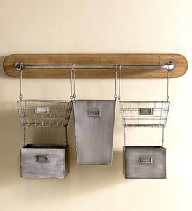 5 Bin Modular Hanging Storage Unit