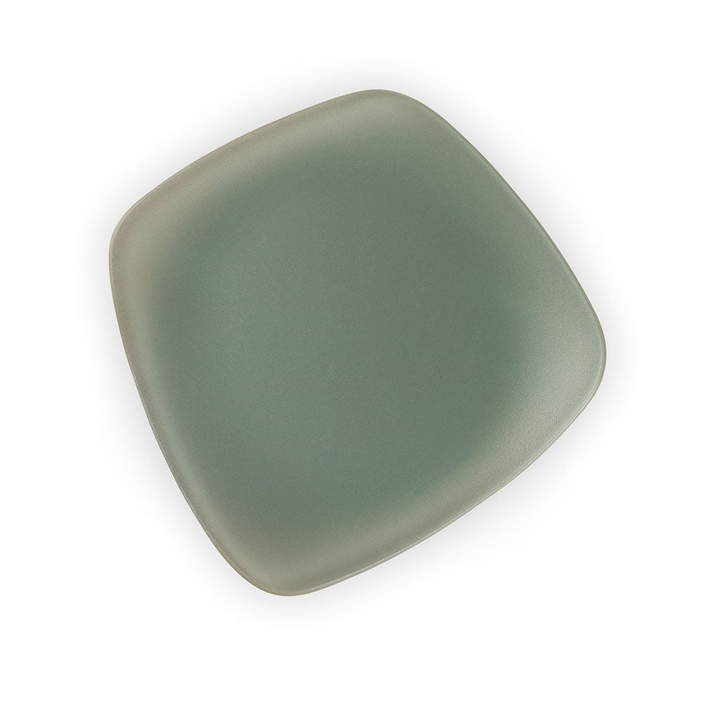 "SeaGlass Form Plates, 7"", Set of 4"