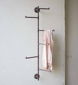 Rustic Wall Swivel Rack