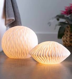Sea Inspired Lighted Globe Lamps