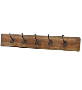 Live Edge Mango Wood Rack