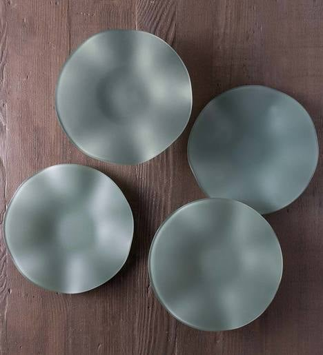"SeaGlass Wave Plates, 10"", Set of 4"