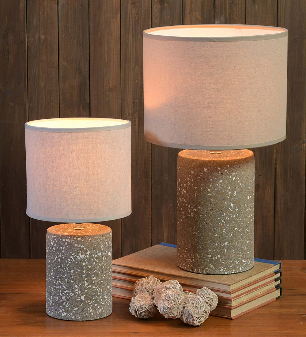 Terrazzo Accent Table Lamp Collection