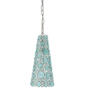 Batasha Recycled Glass Pendant Light