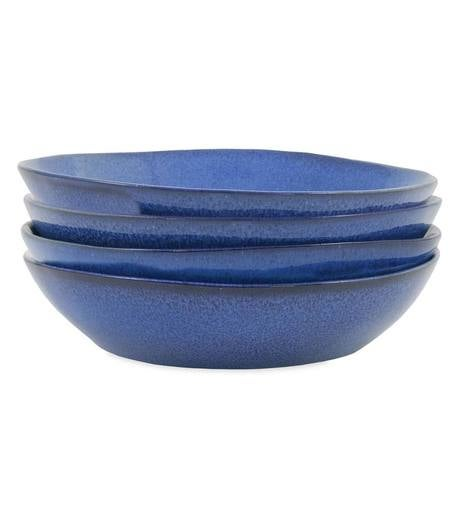 Farmstead Stoneware Pasta Bowls, Set of 4
