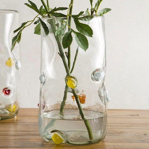 Bright Spot Recycled Glass Vase - Tall