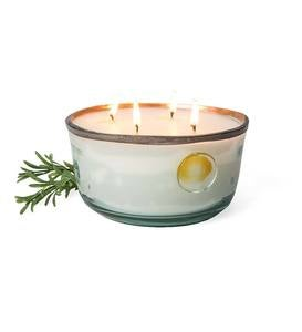 Large French Copper Rim Scented Candle