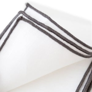 100% Pure Linen Napkins, Set of 4