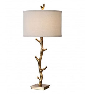 Javor Antiqued Gold Plated Branch Lamp
