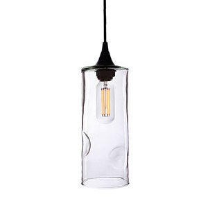 Hyland Recycled Glass Pendant - Amber