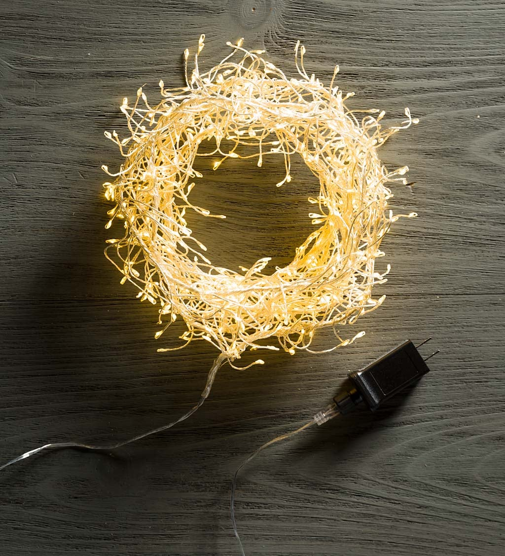 480 White LED String Lights