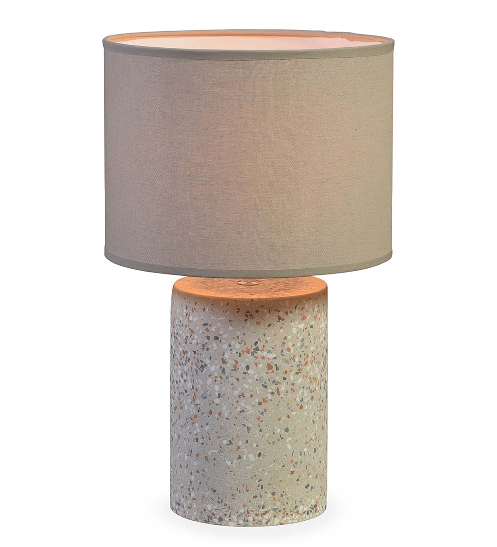Terrazzo Accent Table Lamp, Large swatch image
