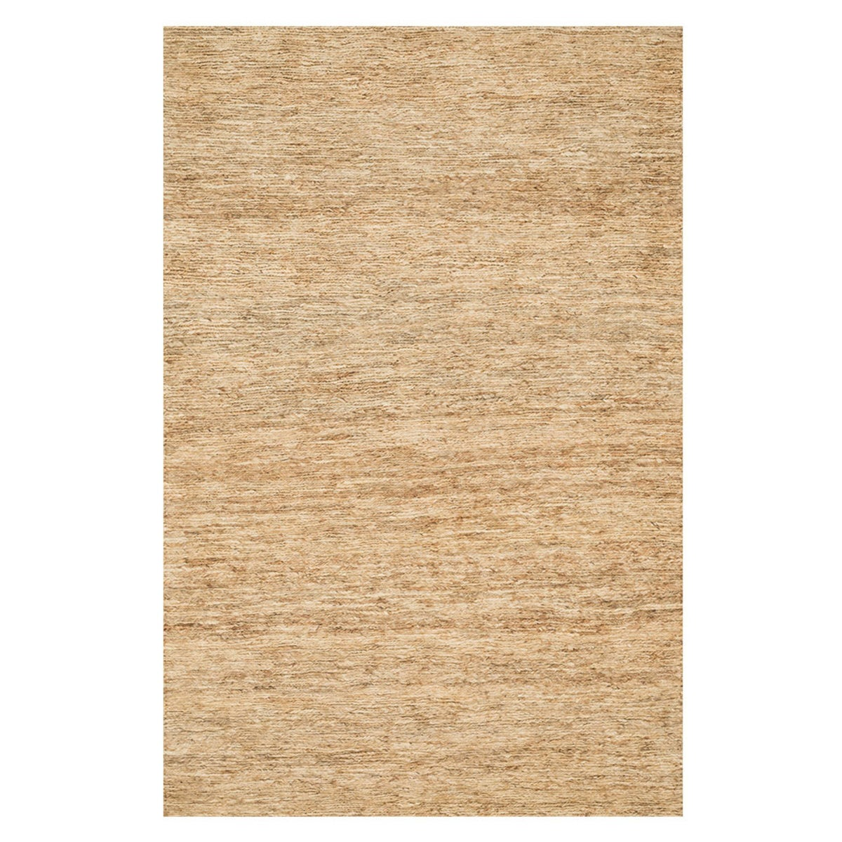 "Loloi Turin Too Braided Jute Rug in Beige - 5' x 7'6"" - Beige"