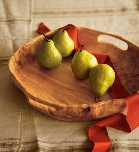Rustic Root of the Earth Serving Tray