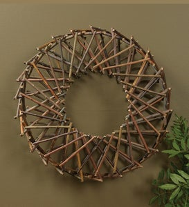 Expanding Natural Willow Wreath