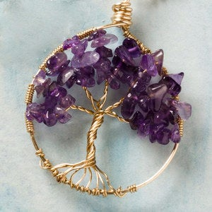 Wired Tree of Life Necklace