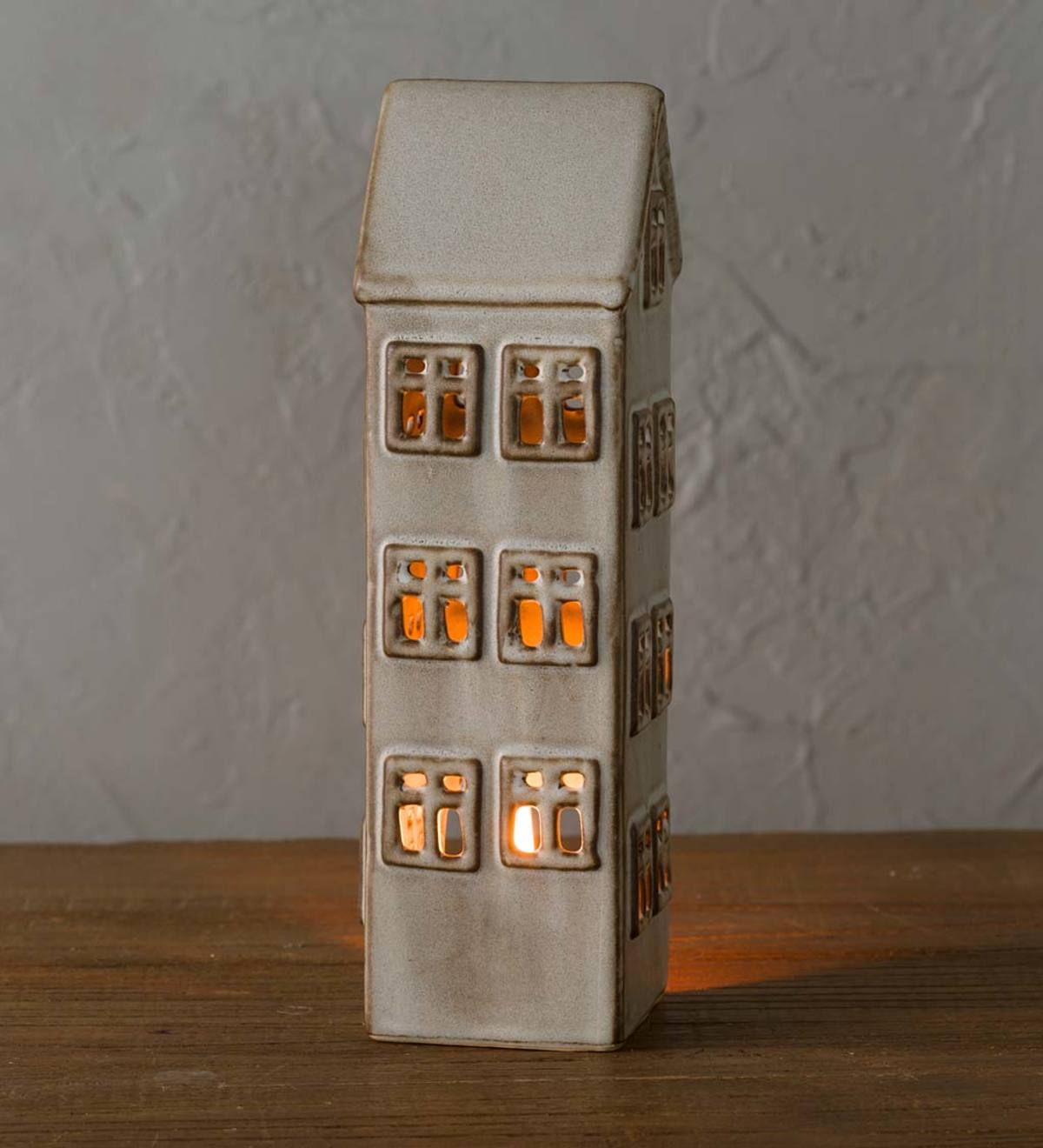 Tall Townshend House Tea light Holder