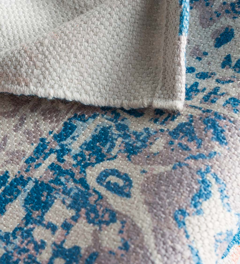 Indoor/ Outdoor Soft Recycled Printed Rug Collection