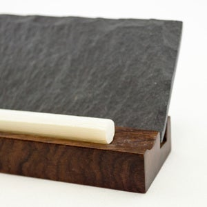 Slate Mini Menu Board with Chalk Set of 2