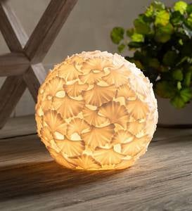 Ginkgo Leaf Ball Lamp