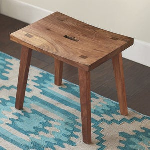 Foldaway Console Desk and Set-Me-Down-Anywhere Stool