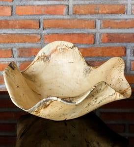 Natural Raw Wood Organic Bowl