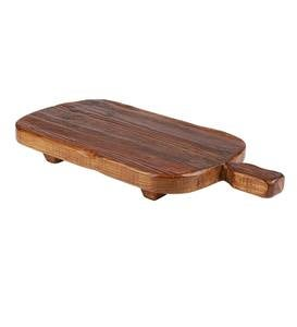 Oversized Rectangle Footed Serving Board