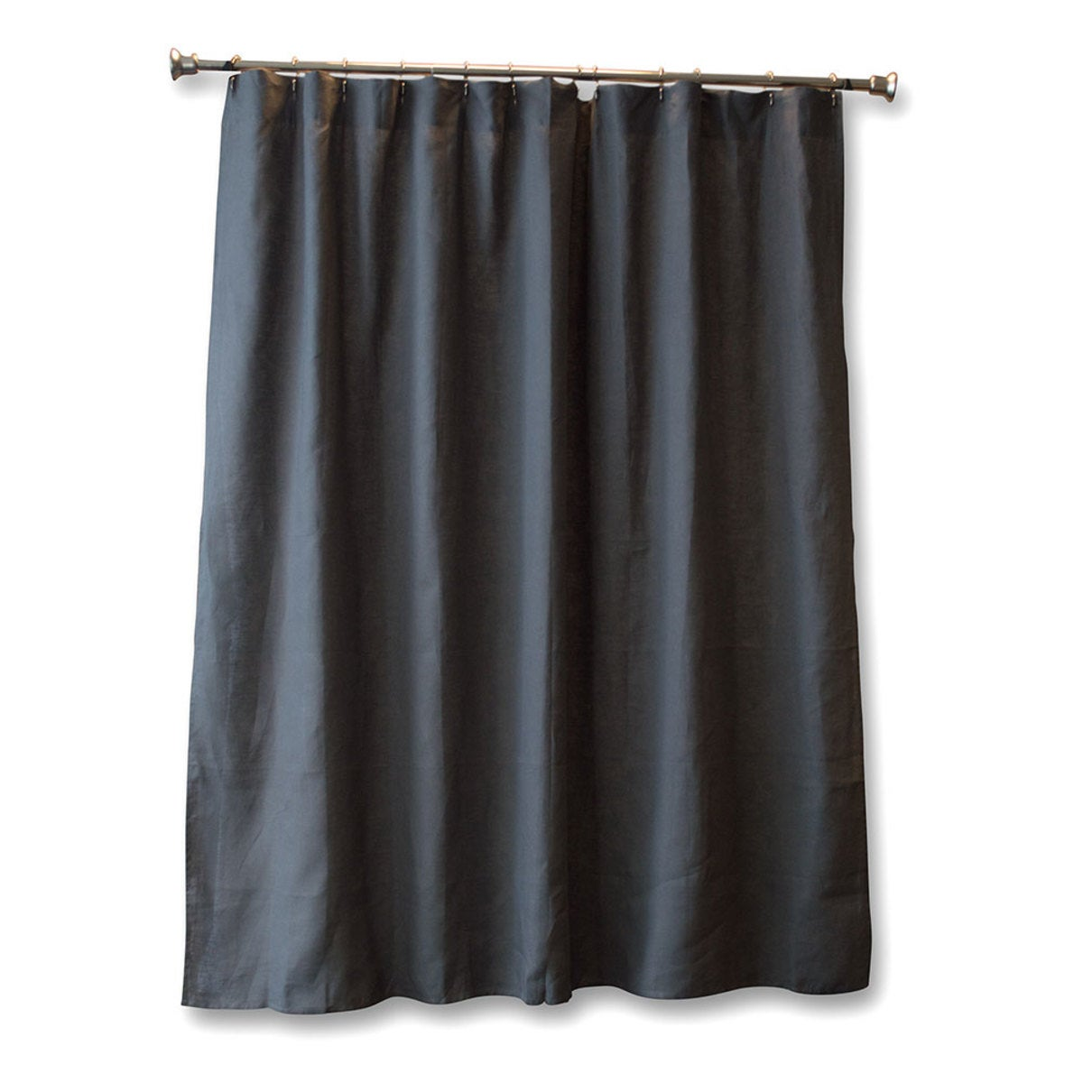 100% Pure Linen Shower Curtain - Cloud