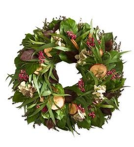 Organic Apple Cinnamon Spice Wreaths