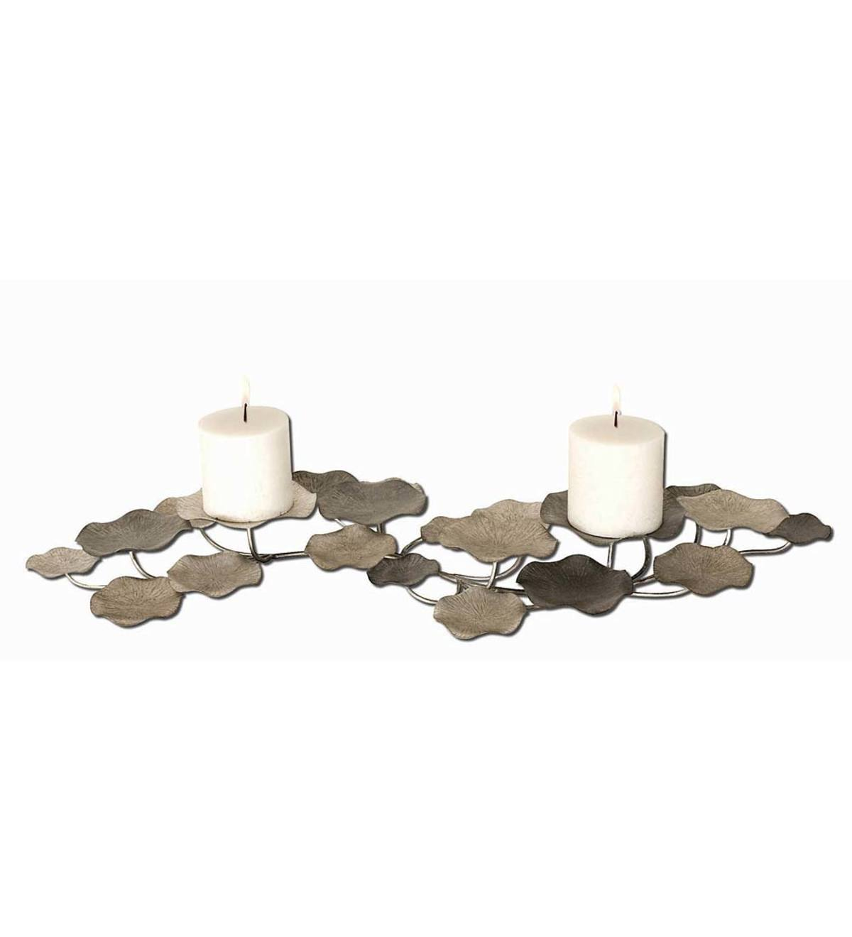 Lying Lotus Candleholder or Wall Decor