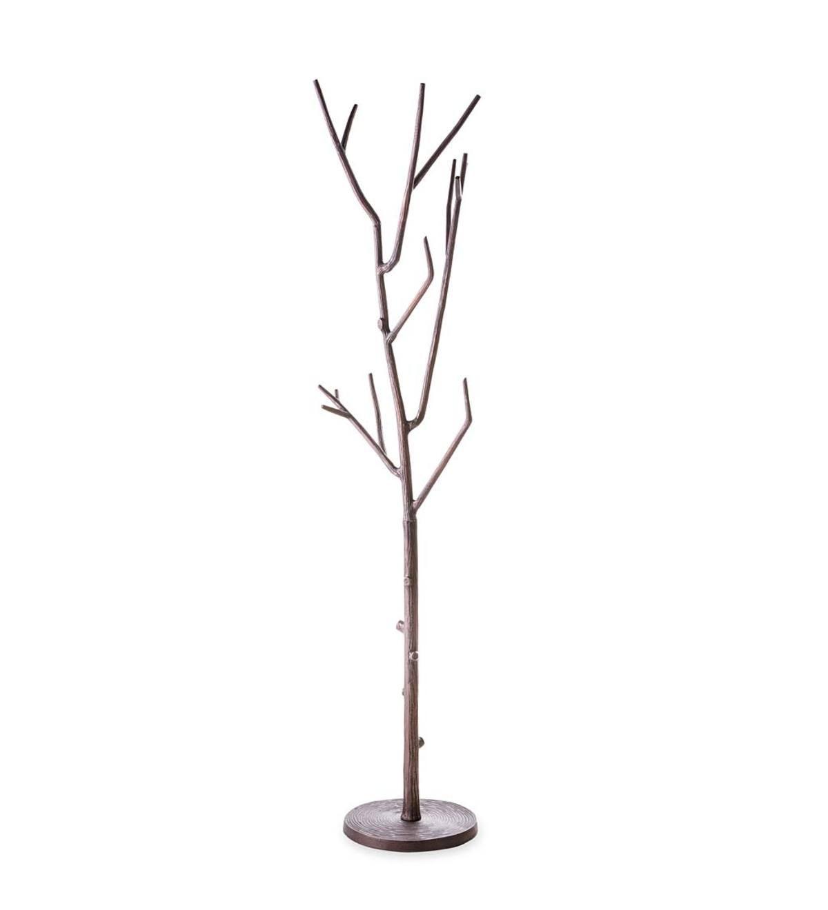 tree branches coat rack | Tree Branch Coat Rack - Bronze | VivaTerra