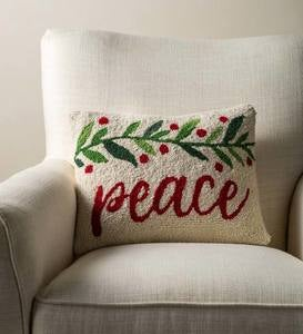 Peace Lumbar Pillow